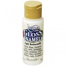 Americana 2 oz. Light Buttermilk Gloss Enamel Paint - DAG164-30