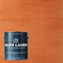 Ralph Lauren 1-gal. Bittersweet Bright Canvas Specialty Finish Interior Paint - BC08