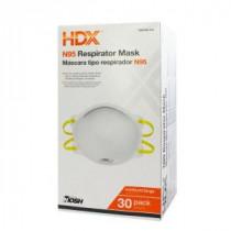 HDX N95 Disposable Respirator Box (30-Pack) - H950