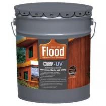Flood 5 gal. Clear CWF-UV Oil Based Exterior Wood Finish - FLD542-05