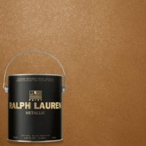 Ralph Lauren 1 gal. Burnished Copper Gold Metallic Specialty Finish Interior Paint - ME139