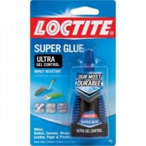 Loctite 0.14 fl. oz. Ultra Gel Control Super Glue (6-Pack) - 1363589