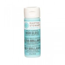 Martha Stewart Crafts 2-oz. Surf Multi-Surface High Gloss Acrylic Craft Paint - 32088