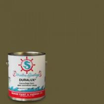 Duralux Marine Paint 1 gal. Camouflage Duck Boat Drab Marine Flat Enamel - M691-1