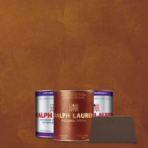 Ralph Lauren 1 qt. Ruby Spinel Copper Polished Patina Interior Specialty Paint Kit - PP119-04K
