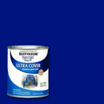 Rust-Oleum Painter's Touch 32 oz. Ultra Cover Gloss Deep Blue General Purpose Paint (Case of 2) - 224428T