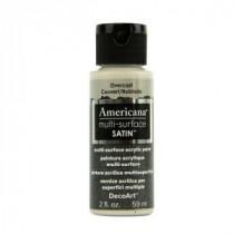 DecoArt Americana 2 oz. Overcast Satin Multi-Surface Acrylic Paint - DA548-30