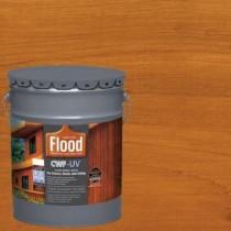 Flood 5 gal. Cedar Tone CWF-UV Oil Based Exterior Wood Finish - FLD520-05