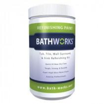 BATHWORKS 20 oz. DIY Bathtub and Tile Refinishing Kit- Almond - BWK-04